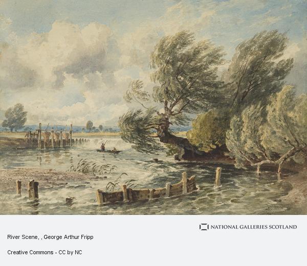 George Arthur Fripp, River Scene