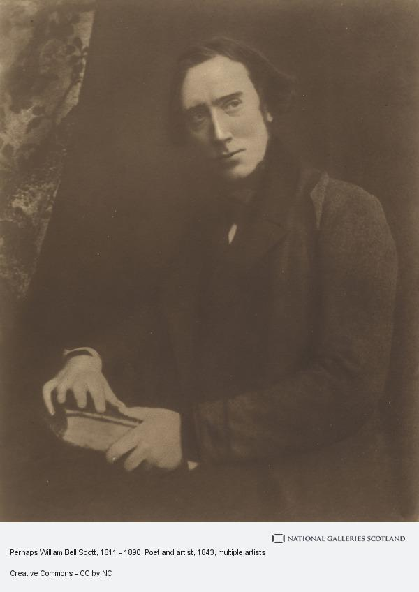 Robert Adamson, Perhaps William Bell Scott, 1811 - 1890. Poet and artist