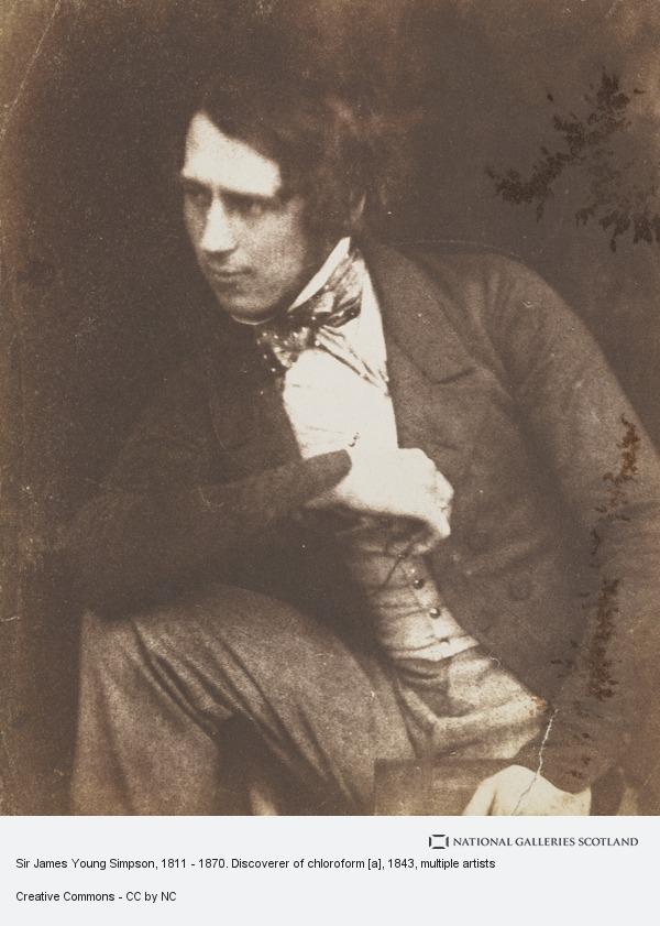 Robert Adamson, Sir James Young Simpson, 1811 - 1870. Discoverer of chloroform [a]