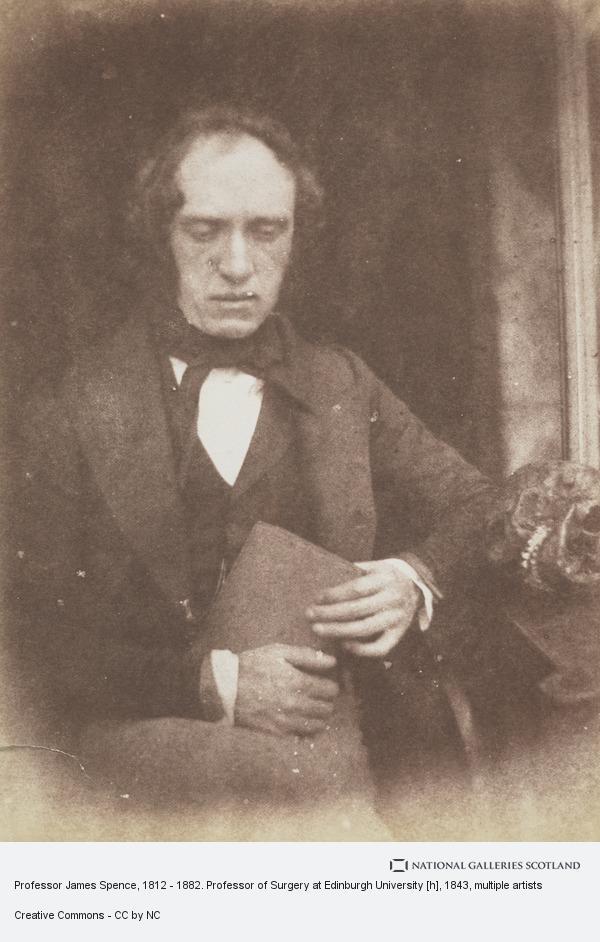 Robert Adamson, Professor James Spence, 1812 - 1882. Professor of Surgery at Edinburgh University [h]