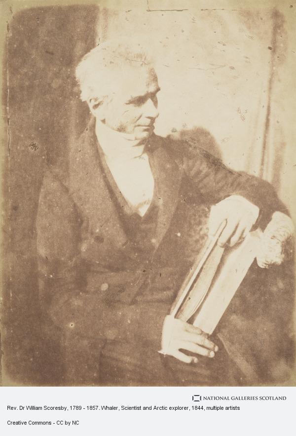 Robert Adamson, Rev. Dr William Scoresby, 1789 - 1857. Whaler, Scientist and Arctic explorer