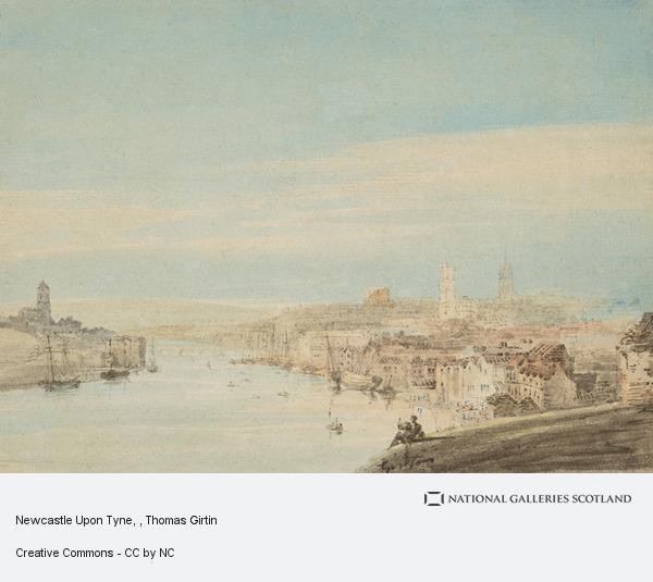 Thomas Girtin, Newcastle Upon Tyne