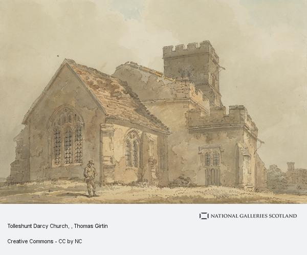 Thomas Girtin, Tolleshunt Darcy Church