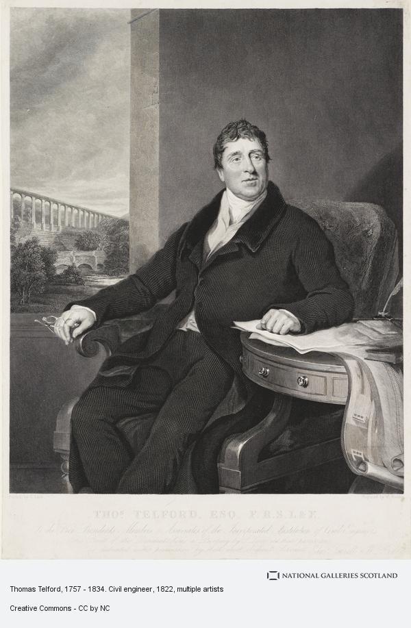 William Raddon, Thomas Telford, 1757 - 1834. Civil engineer (after 1822)