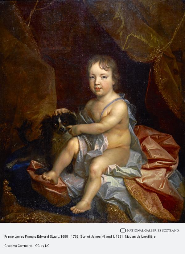 Nicolas de Largilliere, Prince James Francis Edward Stuart, 1688 - 1766. Son of James VII and II (1691)