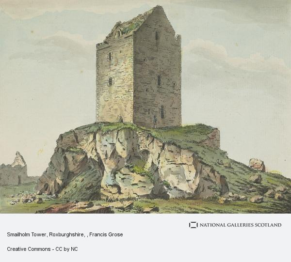 Francis Grose, Smailholm Tower, Roxburghshire