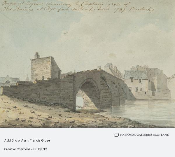 Francis Grose, Auld Brig o' Ayr
