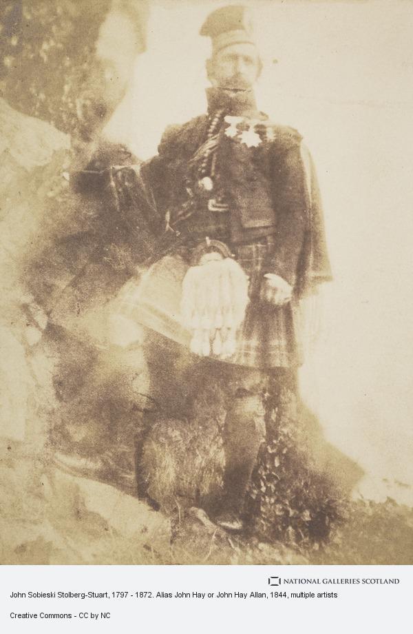 David Octavius Hill, John Sobieski Stolberg-Stuart, 1797 - 1872. Alias John Hay or John Hay Allan