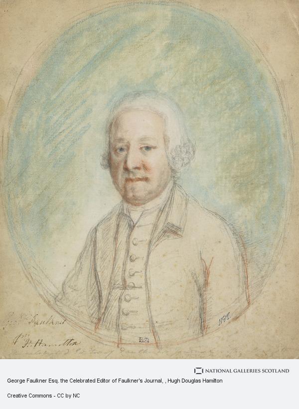 Hugh Douglas Hamilton, George Faulkner Esq. the Celebrated Editor of Faulkner's Journal