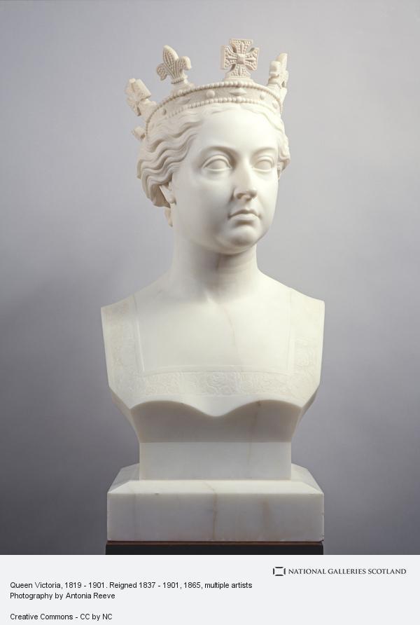 Alexander and William Brodie, Queen Victoria, 1819 - 1901. Reigned 1837 - 1901 (1865)