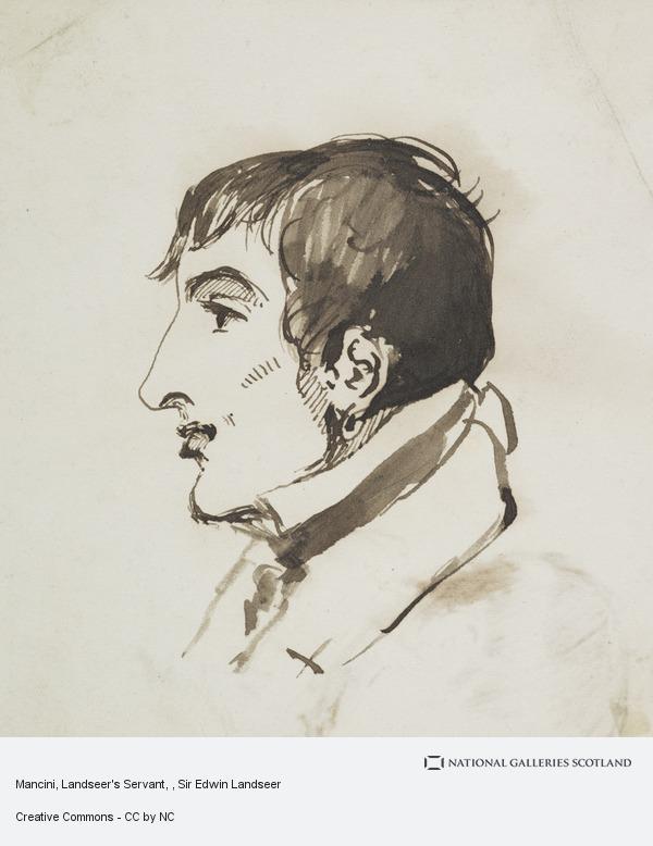 Sir Edwin Landseer, Mancini, Landseer's Servant