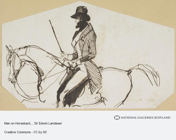 Sir Edwin Landseer, Man on Horseback