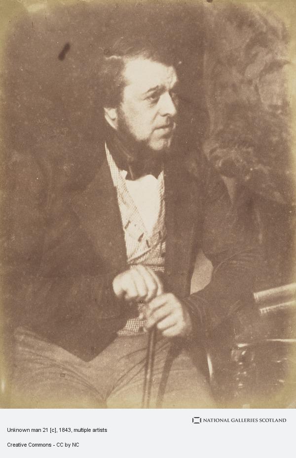 David Octavius Hill, Unknown man 21 [c]