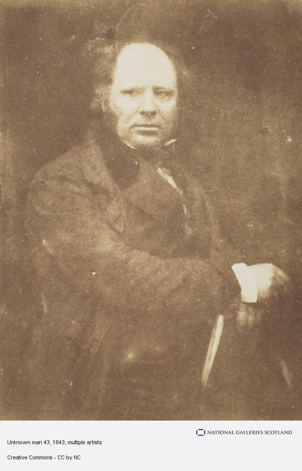 David Octavius Hill, Unknown man 43