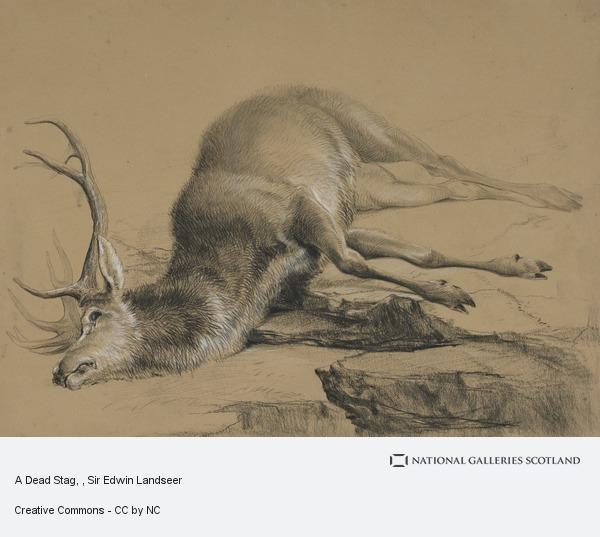 Sir Edwin Landseer, A Dead Stag