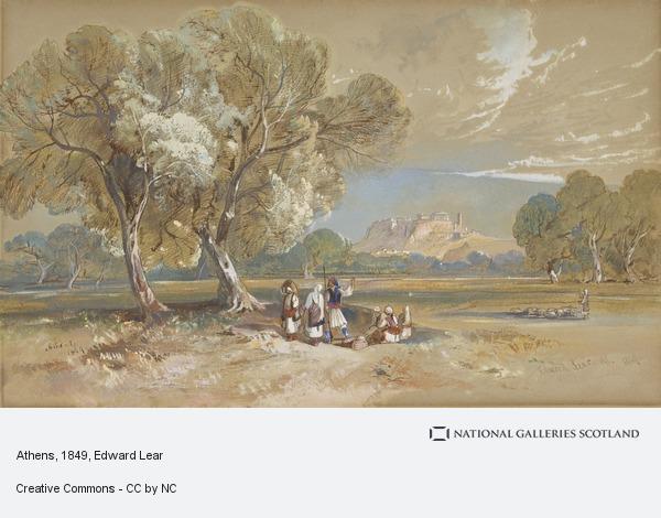 Edward Lear, Athens