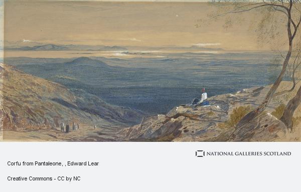 Edward Lear, Corfu from Pantaleone