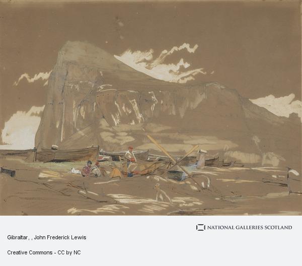 John Frederick Lewis, Gibraltar