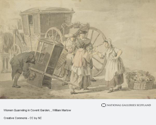 William Marlow, Women Quarreling in Covent Garden