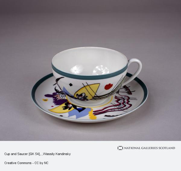Wassily Kandinsky, Cup and Saucer [GK 54]