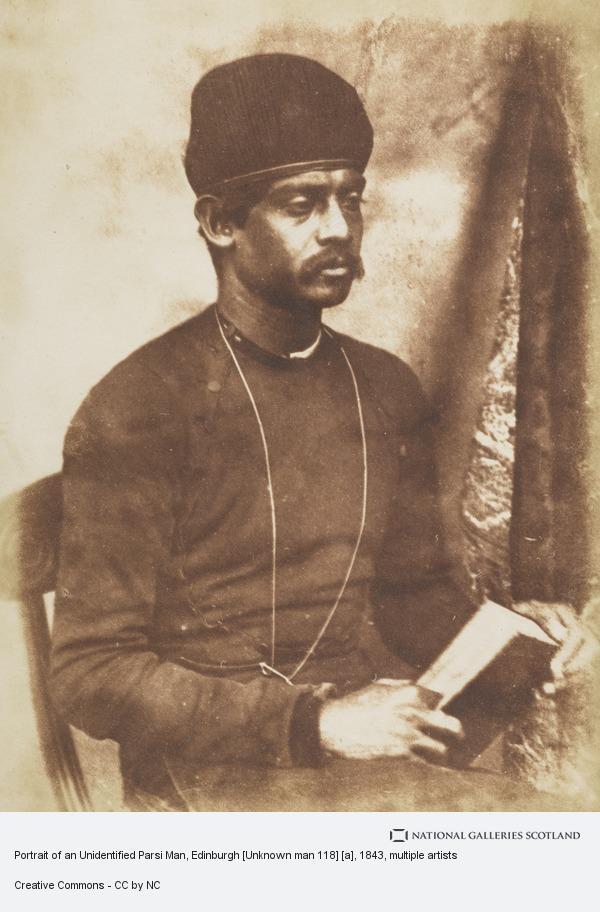 Robert Adamson, Portrait of an Unidentified Parsi Man, Edinburgh [Unknown man 118] [a]
