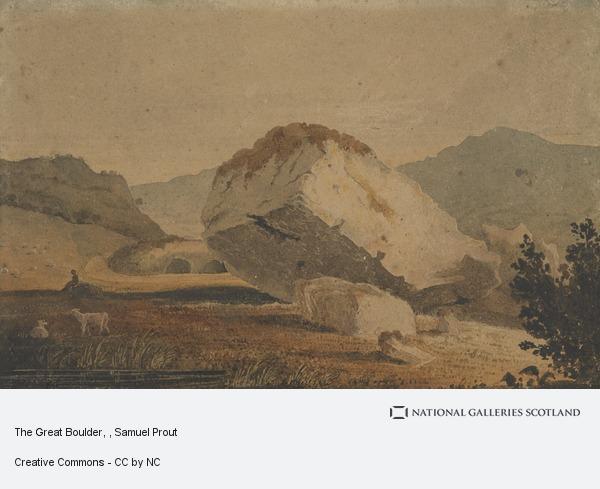 Samuel Prout, The Great Boulder