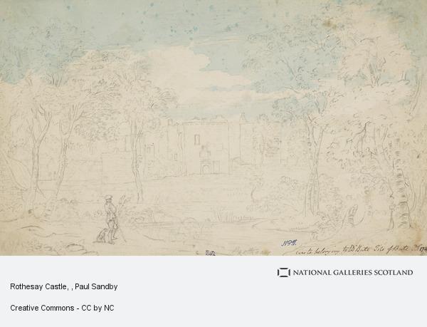 Paul Sandby, Rothesay Castle