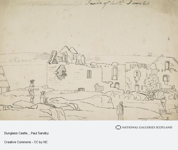 Paul Sandby, Dunglass Castle