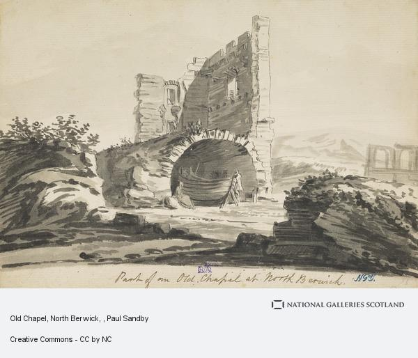 Paul Sandby, Old Chapel, North Berwick