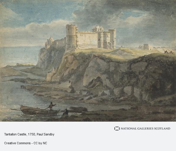 Paul Sandby, Tantallon Castle
