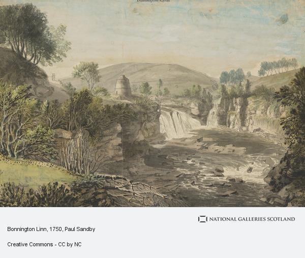 Paul Sandby, Bonnington Linn