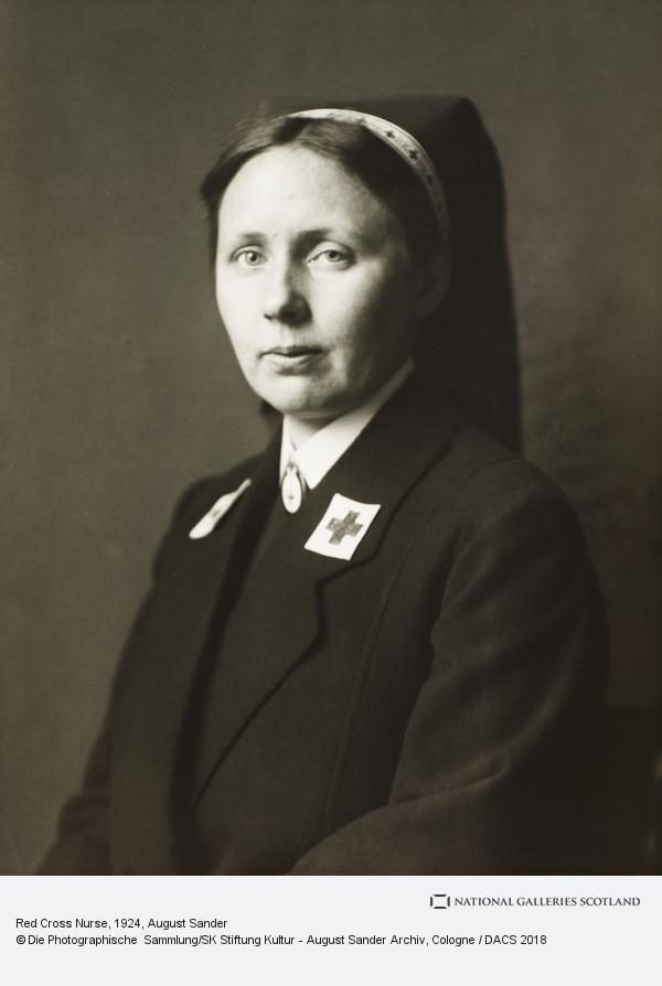 August Sander, Red Cross Nurse, 1924 (1924)