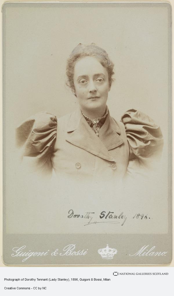 Guigoni & Bossi, Milan, Photograph of Dorothy Tennant (Lady Stanley)