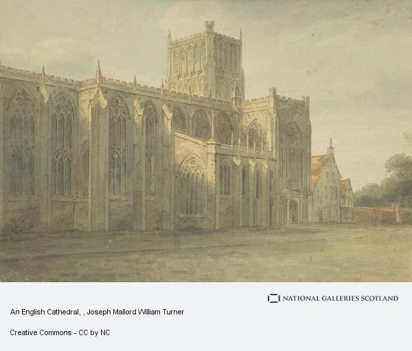 Joseph Mallord William Turner, An English Cathedral