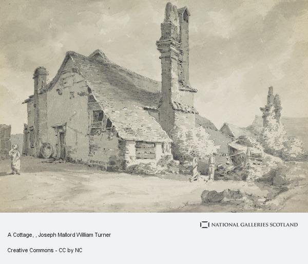 Joseph Mallord William Turner, A Cottage