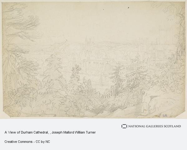 Joseph Mallord William Turner, A View of Durham Cathedral