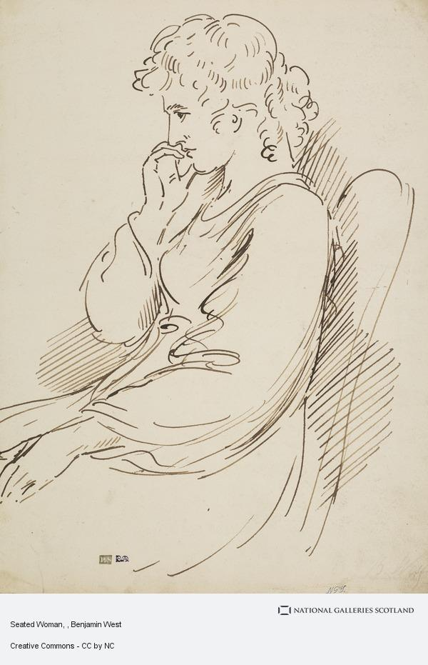 Benjamin West, Seated Woman
