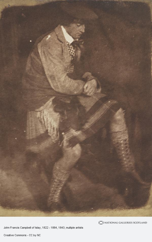 David Octavius Hill, John Francis Campbell of Islay, 1822 - 1884. [a] (1843 - 1847)