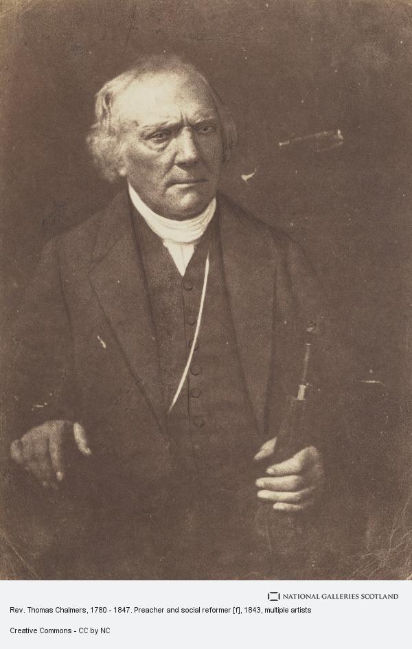 David Octavius Hill, Rev. Thomas Chalmers, 1780 - 1847. Preacher and social reformer [f]