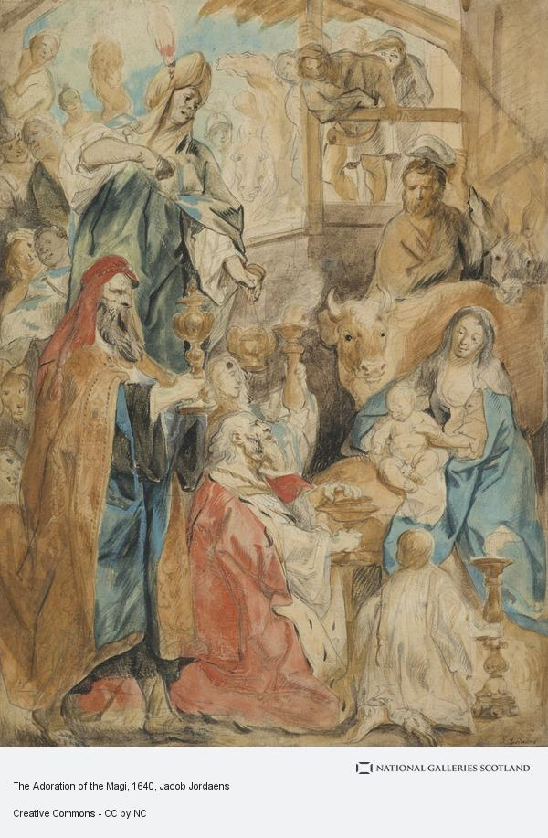Jacob Jordaens, The Adoration of the Magi