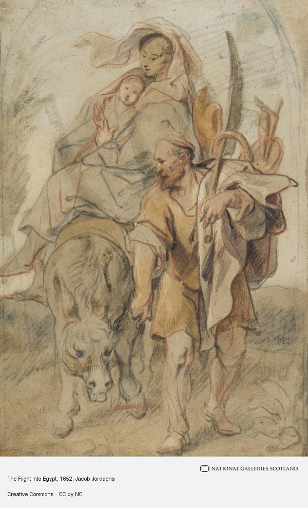 Jacob Jordaens, The Flight into Egypt