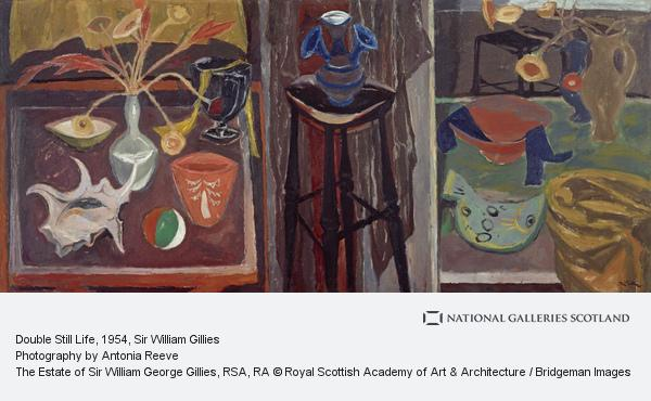 Sir William Gillies, Double Still Life (About 1954)