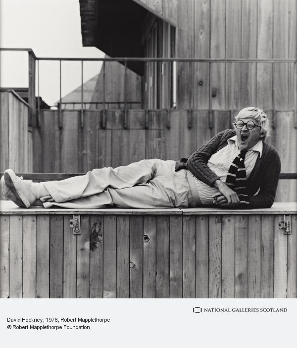 Robert Mapplethorpe, David Hockney (1976 (printed 2003))