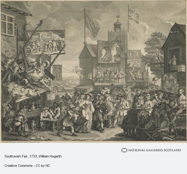 William Hogarth, Southwark Fair