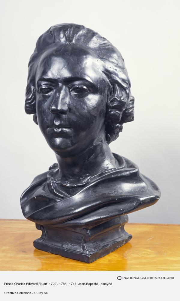 Jean-Baptiste Lemoyne, Prince Charles Edward Stuart, 1720 - 1788.