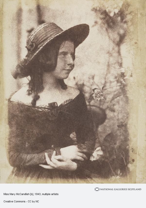 David Octavius Hill, Miss Mary McCandlish [b]