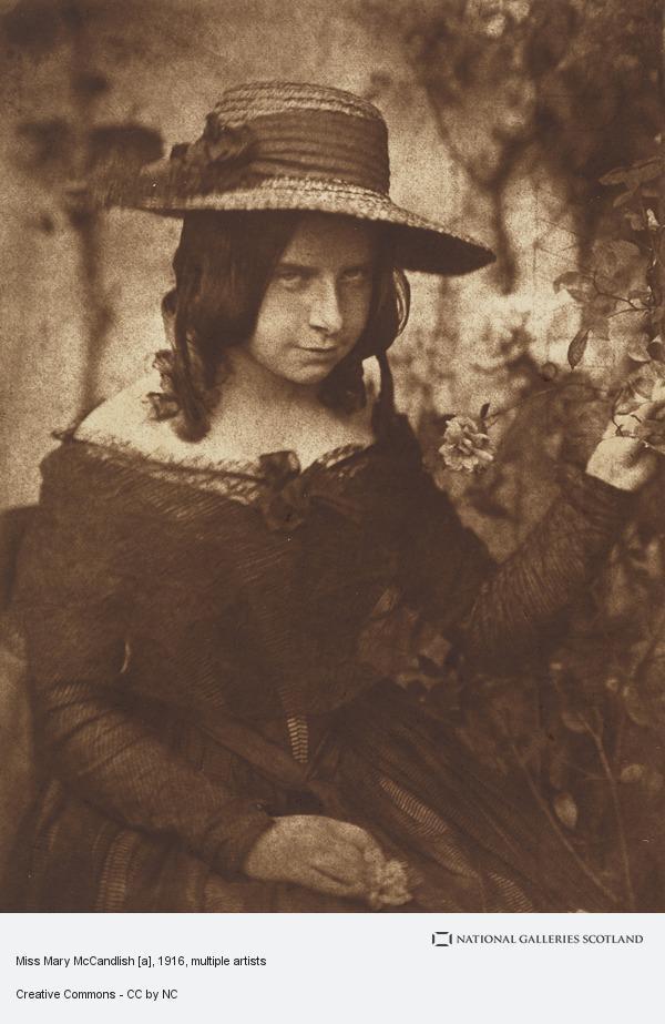 David Octavius Hill, Miss Mary McCandlish [a]