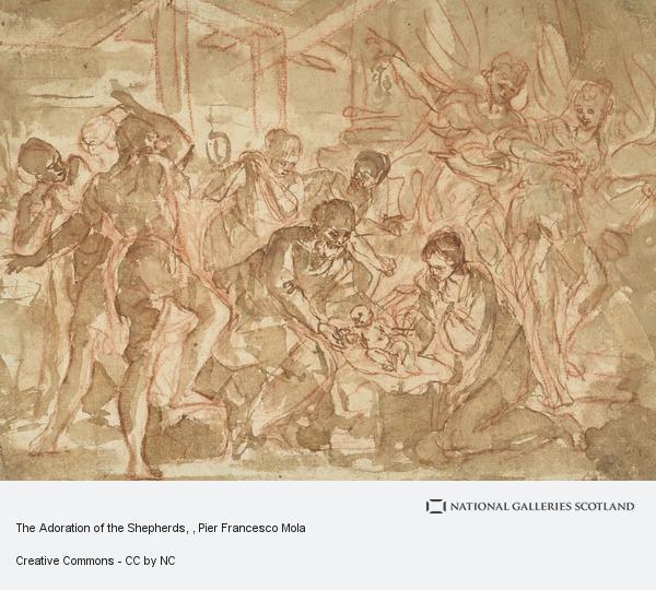 Pier Francesco Mola, The Adoration of the Shepherds