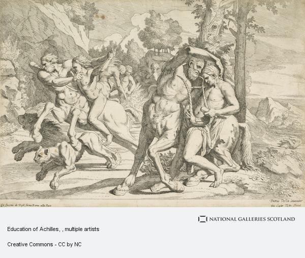 Giovanni Cesare Testa, Education of Achilles