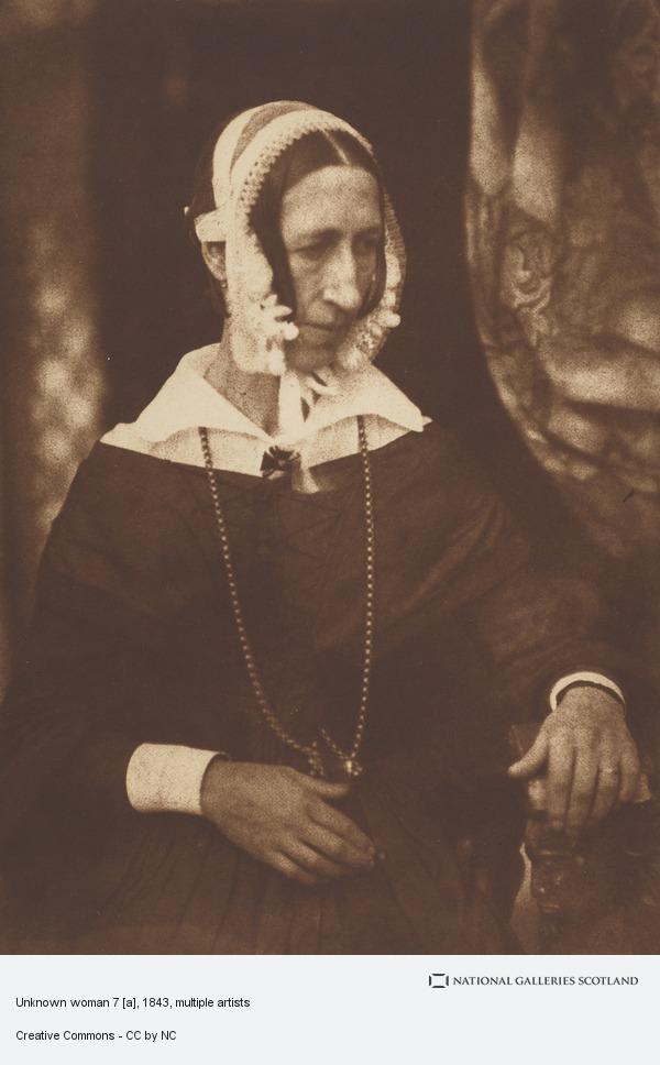 David Octavius Hill, Unknown woman 7 [a]